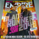Empire Magazine August 2017 issue 339 Blade Runner 2049